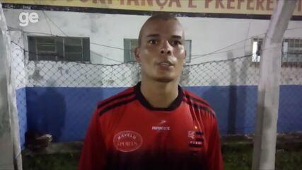 """Artilheiro do Fla-PI na pré-temporada, Polho celebra fase: """"Tenho que botar para dentro"""""""