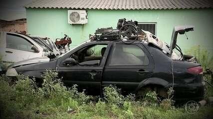 Carros roubados no Brasil eram enviados para o Uruguai por quadrilha