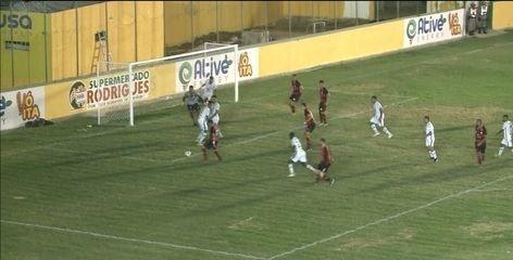 Confira como foi o empate entre Sousa e Campinense no Marizão