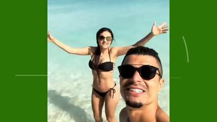 """Egídio vira meme em rede social: """"Piscininha, amor"""""""