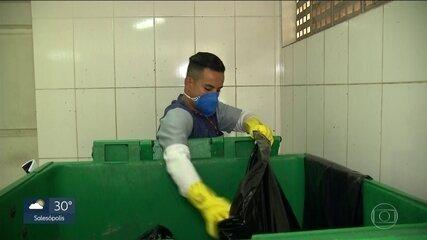 Usinas de reciclagem de SP operam muito abaixo da capacidade
