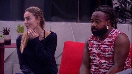 Paula brinca sobre ronco: 'Vamos fazer um rodízio de Rodrigo'