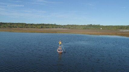 Em Baixio, Briza desbrava três lagoas: a da Panela, a Verde e a do Mamucabo