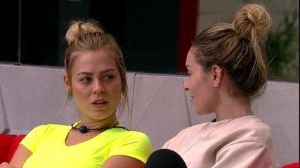 Isabella sobre Maycon: 'Não está falando comigo direito'