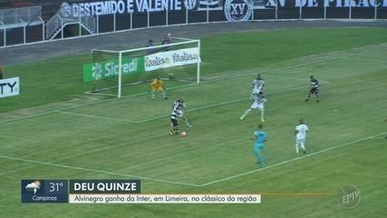 XV de Piracicaba vence Inter de Limeira fora de casa na estreia do estadual