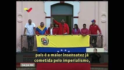 Maduro ordena saída em 72 horas de todo corpo diplomático americano
