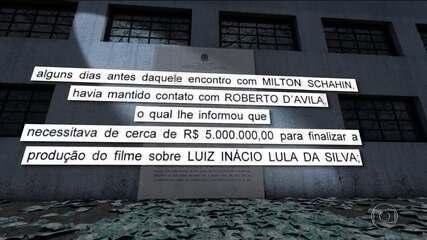 Palocci diz que mandou dar propina para filme de Lula feito por empresa de Roberto D'Avila