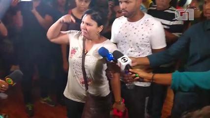 Parente de vítima do desastre em Brumadinho se desespera com falta de informação