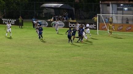 Os gols de Altos 1 x 1 ABC pela segunda rodada da Copa do Nordeste