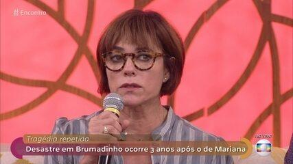 Christiane Torloni lamenta desastre em Brumadinho