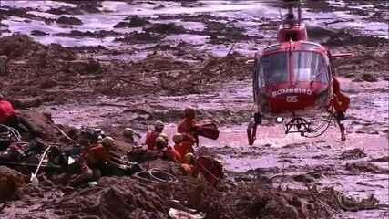 Número de mortos em Brumadinho (MG) já passa de 60, dizem bombeiros