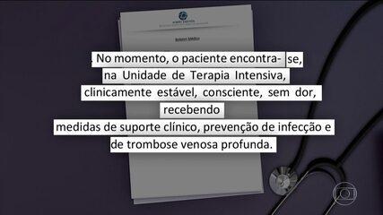 Bolsonaro está estável após cirurgia de sete horas, diz boletim médico