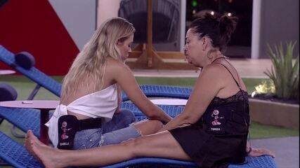 Isabella comenta com Tereza: 'Achava que uma das meninas ia sair'