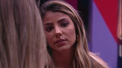 Hariany para Paula: 'O Maycon é muito contraditório'