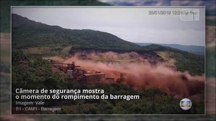 Vídeos registram momento em que barragem da Vale se rompe em Brumadinho