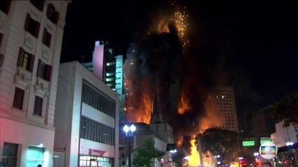 Relatório final sobre o desabamento do prédio em São Paulo indicia três pessoas