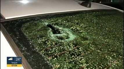Menina de 11 anos e baleada em Itaboraí