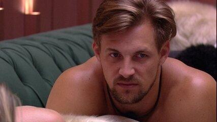 Diego desabafa com Paula: 'Tem a possibilidade de eu ir para o Paredão'