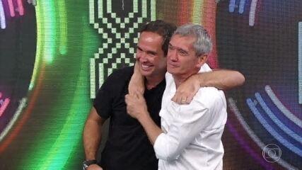 Serginho Groisman e Caio Ribeiro vencem o 'Super Ding Dong'