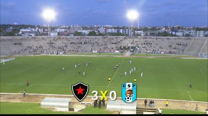 Veja como foi a vitória do Botafogo-PB sobre o CSP