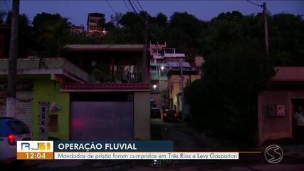 Operação Fluvial prende 10 integrantes de facções criminosas no Sul do Rio