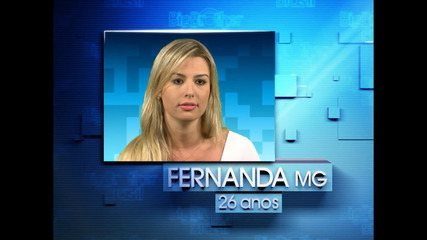 Chamada Fernanda Keulla 'Big Brother Brasil 13'