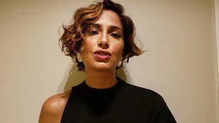 Camila Pitanga fala sobre a série 'Aruanas'