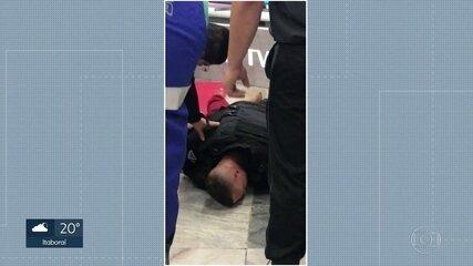 Novas imagens mostram confusão dentro de supermercado que acabou matando jovem