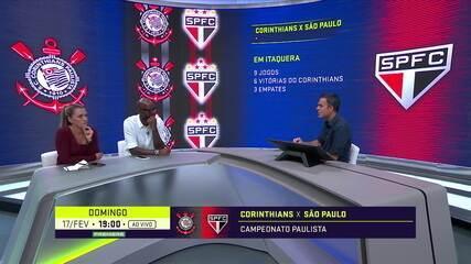 Corinthians e São Paulo fazem clássico no fim de semana pelo Campeonato Paulista