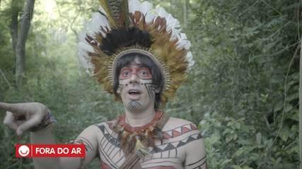 'Fora do Ar': elenco se diverte com os erros de gravação
