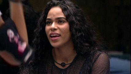 Elana sobre discurso de Maycon: 'Eu nasci ontem, eu cresi assim, vou morrer assim'