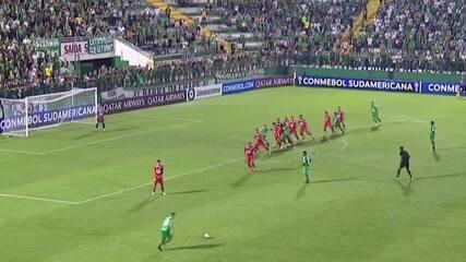 Melhores momentos: Chapecoense 1 x 1 Unión La Calera pela Copa Sul-Americana