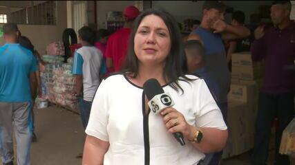 Com medo do fechamento da fronteira, venezuelanos correm para fazer compras em Roraima