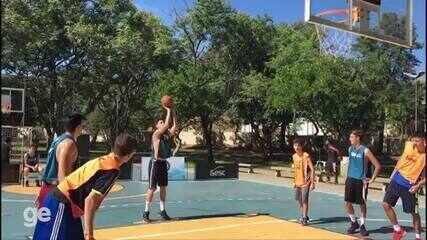 Veja imagens do festival de basquete 3x3, que agita o Sesc Thermas de Prudente neste final de semana