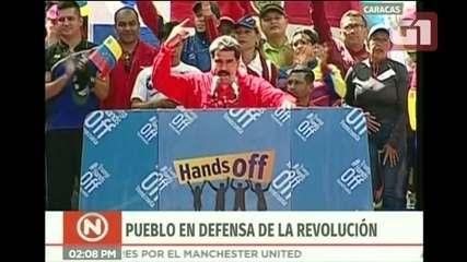 Veja trechos do discurso de Nicolás Maduro