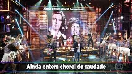 """Marcos & Belutti cantam """"Ainda Ontem Chorei de Saudade"""""""