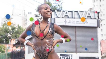 VEJA VÍDEO: Vanessa Marcos é a musa da Vai-Vai