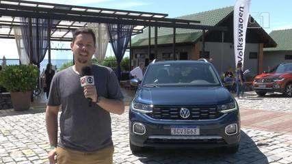 G1 andou no T-Cross, o primeiro SUV compacto da Volkswagen