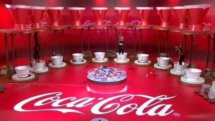 Paula é a ultima deixar a Prova do Líder Coca-Cola com Café Espresso
