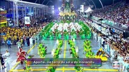 Confira a letra do samba-enredo da Mancha Verde