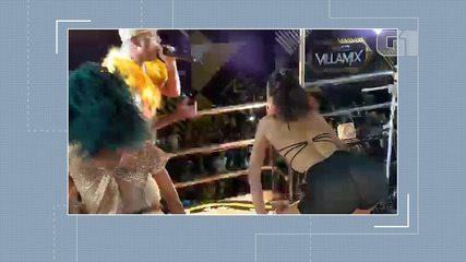 Bruna Marquezine dança até o chão no trio do Psirico, em Salvador