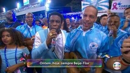 Samba da Beija-Flor comemora os 70 anos da escola