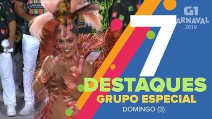Veja 10 destaques da primeira noite de desfiles das escolas de samba do Grupo Especial