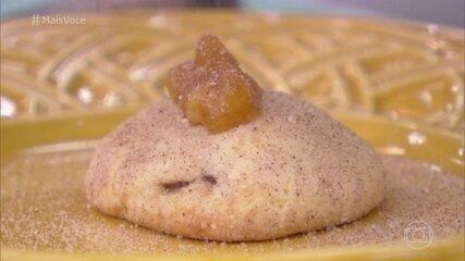 Biscoito de Cream Cheese com Banana