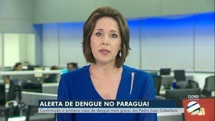 Foi confirmado o 1° caso de dengue do tipo mais grave no Paraguai