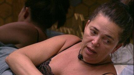 Tereza diz que Gabriela é forte e afirma: 'Não quero mais ir com ela'