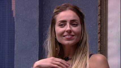 Paula lamenta Paredão: 'Seria a chance de sair alguém que vota na gente'