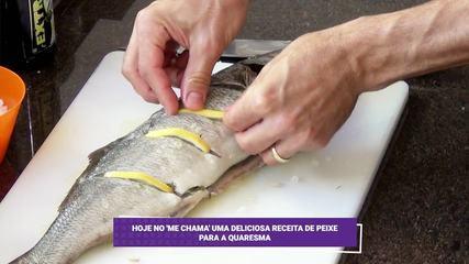 Aprenda uma deliciosa receita de peixe para a quaresma