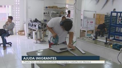 Em Manaus, projeto ajuda venezuelanos que querem entrar no mercado de trabalho