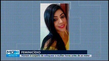 Perícia constata cerca de 15 perfurações em corpo de mulher morta em Bom Despacho